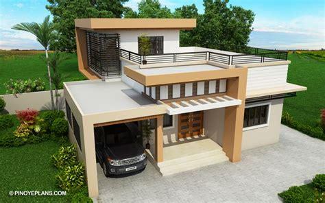 kassandra  storey house design  roof deck pinoy eplans house roof design