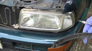 Audi 80 Coupe Cabriolet Headlight Removal