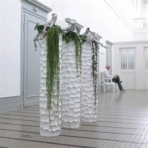 Bodenvase Weiss 80 Cm : fleur ami mosaic pflanzs ule wei hochglanz interismo onlineshop ~ Bigdaddyawards.com Haus und Dekorationen
