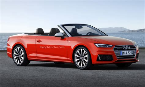 The All-new Audi A5 Cabriolet Won't Be Ready Until 2017