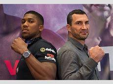 Joshua Klitschko Anthony Joshua promises Wembley win in