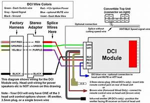 Sony Head Unit Wiring Diagram