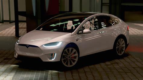 Tesla Model X P90d 2016 [add-on][wipers|spoiler] Hq