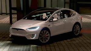 Tesla Modele X : tesla model x p90d 2016 add on wipers spoiler hq gta5 ~ Melissatoandfro.com Idées de Décoration