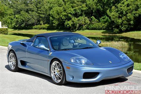 New 360 spider f1 prices. 2001 Ferrari 360 SPIDER/SPIDER F1 | Pinnacle Motorcars
