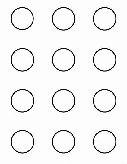 Templates Macaron Template Printable Circle Macarons Pdf