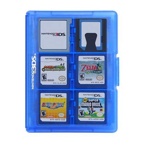 boite de rangement 24 jeux hori coloris bleu nintendo 3ds top achat