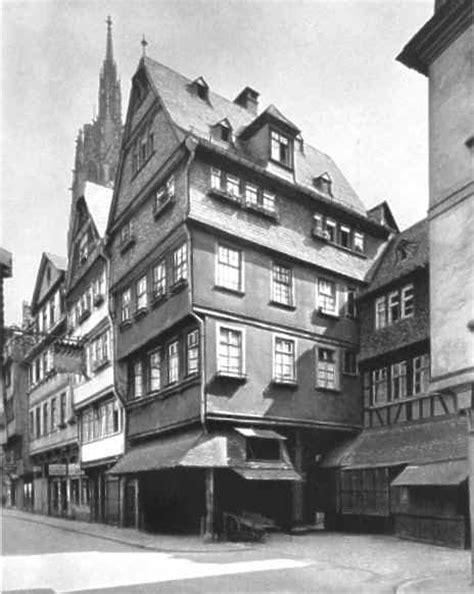 Alter Markt (the Old Market) Rotes Haus Frankfurt Am Main