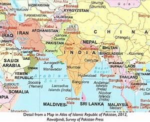 india pakistan kashmir map Book Covers