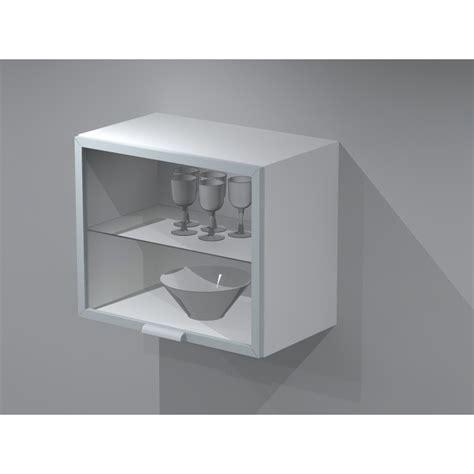meuble haut vitré cuisine meuble haut de cuisine avec porte lift 60cm