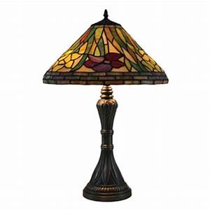 overstock this stunning 39daffodil39 tiffany style table With amora lighting tiffany style cascades floor lamp