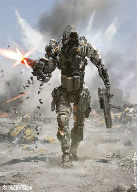 Call Of Duty Black Ops Iii Marketing Art By Karakter