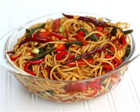 kung pao spaghetti chez cayenne