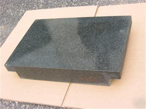 new 36 x 48 black granite grade a surface plate 2 ledge