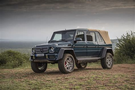 Read the review and see photos at car and driver. The new Mercedes-Maybach G 650 Landaulet (6)   Cape Town Guy