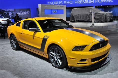 Mustangs @ New York International Auto Show 2012