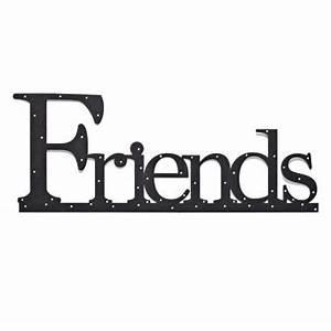 Friends Wall Word