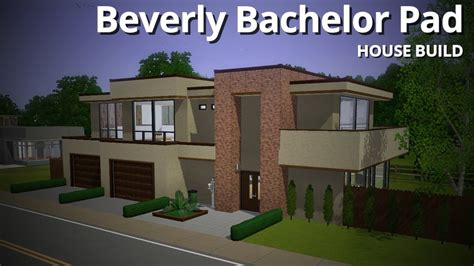 build house the sims 3 house building beverly bachelor pad base