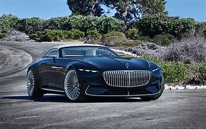 Wallpaper Vision Mercedes-Maybach 6 Cabriolet, 2018, 4K