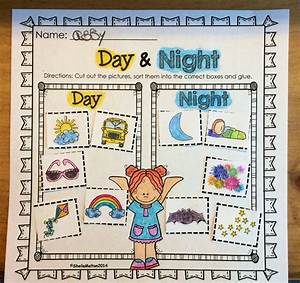 Day and Night Objects in the Sky   Activities, Students ...