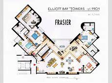 Frasier's Apartment Floorplan V2 by nikneuk on DeviantArt