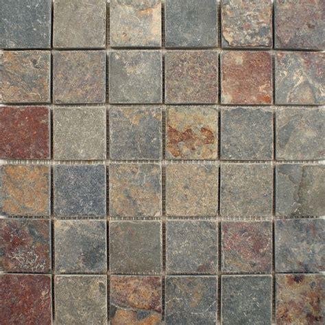 large tiles iron square large tiles zibo slate mosaic tiles 305x305x5