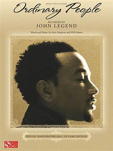 Ordinary People Sheet Music By John Legend - Sheet Music Plus