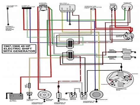 40 Hp Evinrude Wiring Diagram by Resistor Wiring Diagram On 40 Hp Mercury Outboard Wiring