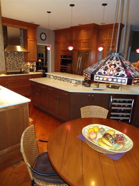 multi level kitchen island multi level island in kitchen remodel