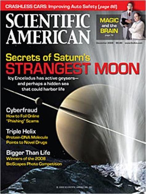 Scientific American Magazine Subscription From $1997