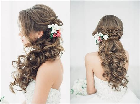 Wedding Hairstyles Half Up Half Down : 20 Creative Half Up Half Down Wedding Hairstyles