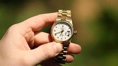Rolex Date Double Crown Wind Turn Quickset
