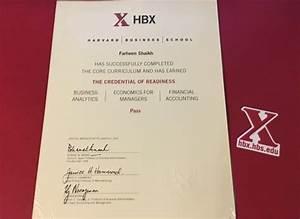 Harvard Business   HBX CORe Certificate