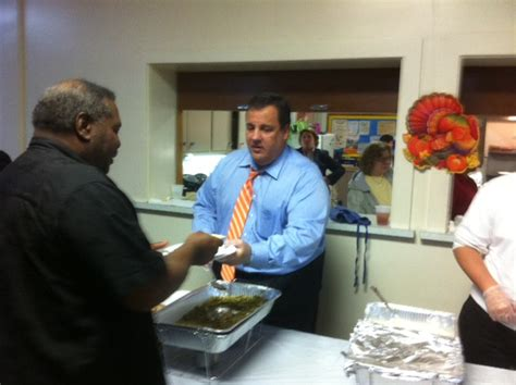 Jersey City Soup Kitchen by Governor Christie Honors 8 Year Volunteer At New