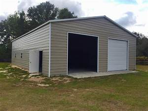 40x60 garage central florida steel buildings and supply With 40 by 60 steel building