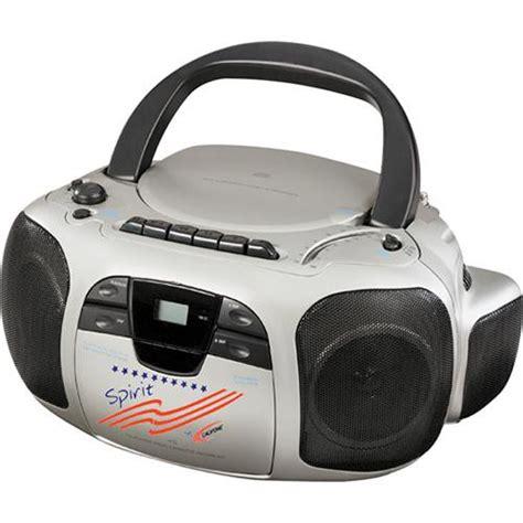 Rd Ijo Bpom califone spirit cd cassette radio boom box 1776 b h photo