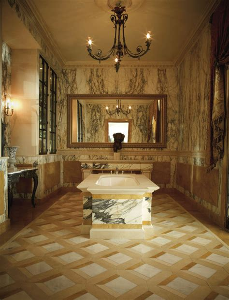 classical italian paonazza marble bathroom traditional