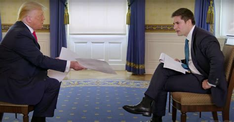 trumps axios interview  hbo   disaster vox