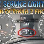 reset service light indicator skoda fabia reset service light reset life maintenance