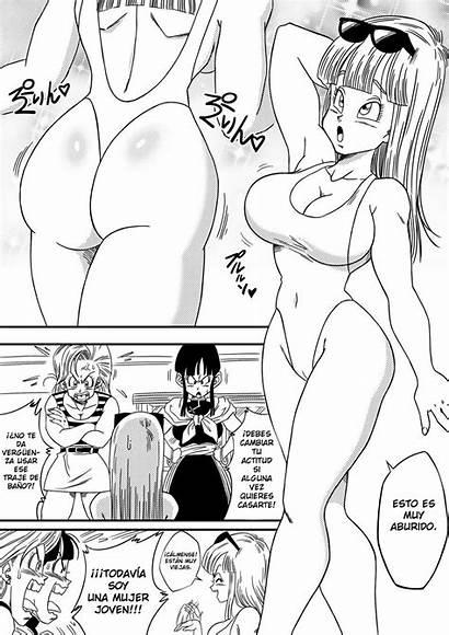 Bitch Girlfriend Hentai Dragon Ball Maron Comic