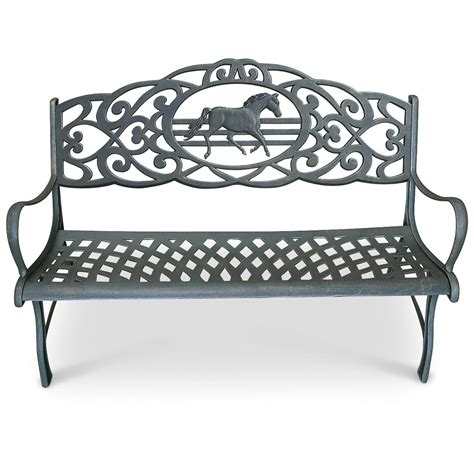cast iron outdoor bench 169588 patio furniture at