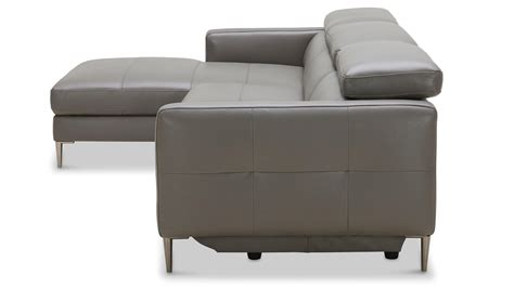 Contemporary Sofa Recliner by Contemporary Sectional Recliner Top Grain Leather Sofa