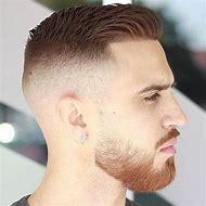 Crew Cut Men Fade Haircut