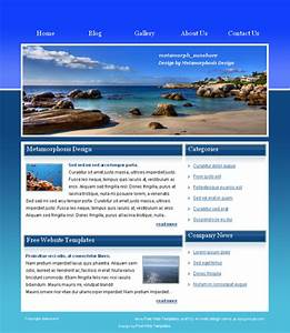 15 html web templates free download images html website for Homepage template free download