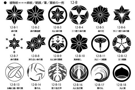Japan Family Crest, Plant Crests 1