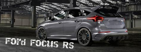 ford focus rs official specifications