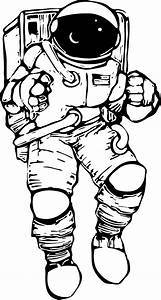 Astronaut Outline (page 3) - Pics about space