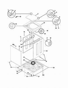 Wiring Diagram For Frigidaire Model Fgx831fs0 Washer Dryer