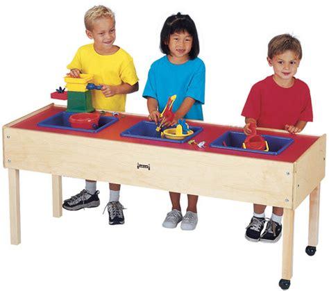 sensory table replacement tub 0885jc jonti craft 3 tub sensory table sand and water table
