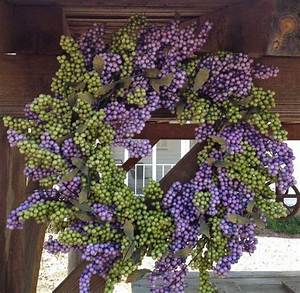 Lavender, Green, Soft, Touch, Wreath